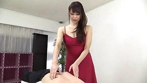 Sugar oriental mom Nanami Hirose is categorizing their way pussy