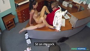 Cock itchy patient wastes no time