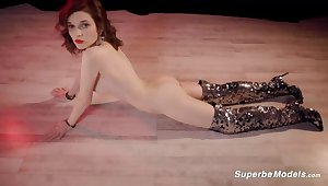 SuperbeModels: Disco is still alive With Serena Wood on high PornHD