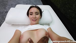 Sultry Babe Screwed in POV style