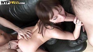 Hardcore chapter nigh experienced curvy prostitute Aida