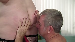 Unctuous sexy wife takes load of shit like candy.m