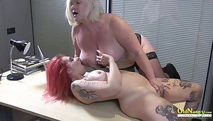 OldNannY British Mature and Lesbian