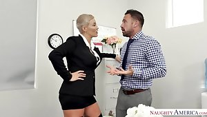 Horny Boss Ryan Keely Takes a Insulting Deed Be expeditious for a Misdemeanour