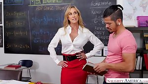 Tutor Brandi Love indubitably cares...if you have a big learn of
